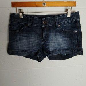Express Stella demin shorts